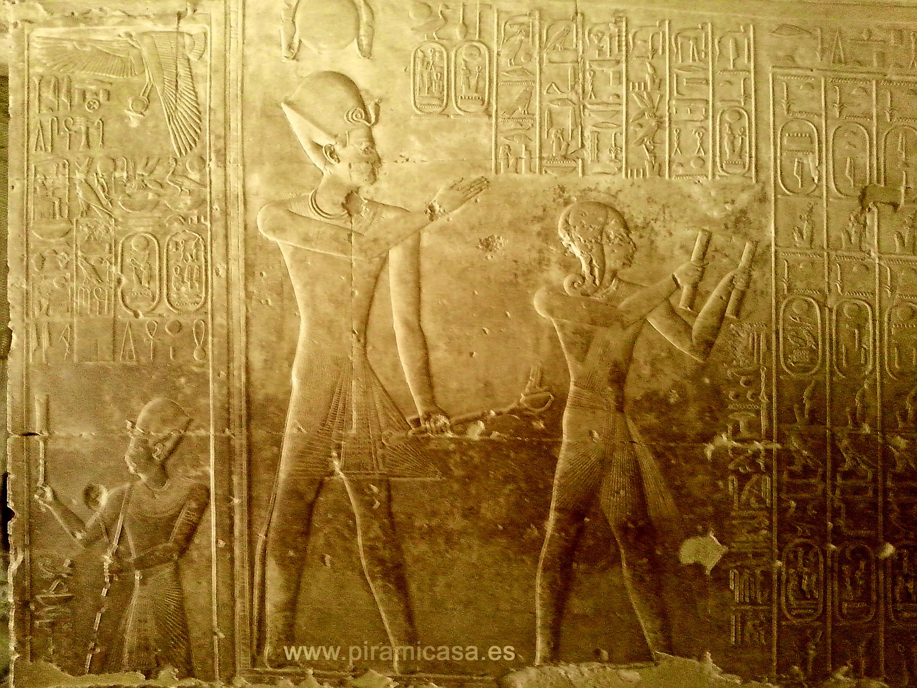 Relieve Muro Abydos 2
